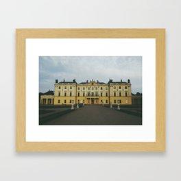 Branicki Palace, Białystok, Poland Framed Art Print