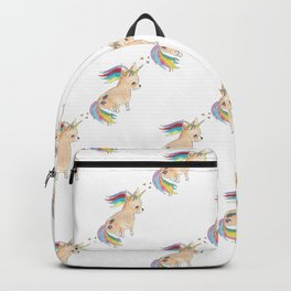 Unicorn chihuahua explosion Backpack
