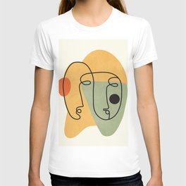 Abstract Faces 19 T-shirt