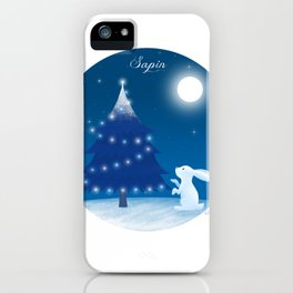 Sapin (Christmas tree) iPhone Case
