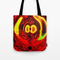 scuba Tote Bags featuring Scuba by otorography