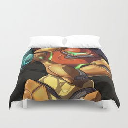 DOMTROID: Worlds Collide Duvet Cover