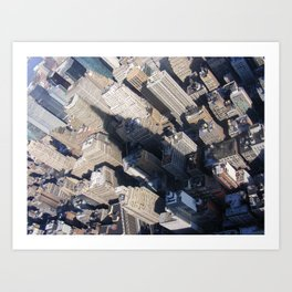 In The Shadow Of Greatness. Art Print