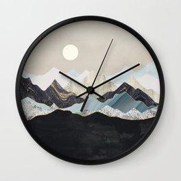 Silent Dusk Wall Clock