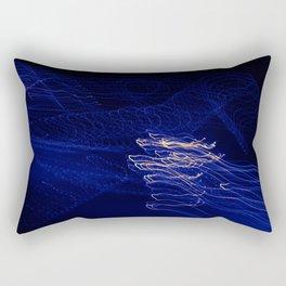Light Waves Rectangular Pillow