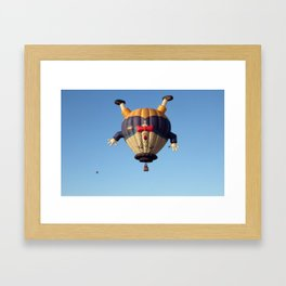 Humpty Dumpty Hot Air Balloon Framed Art Print