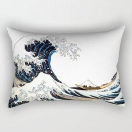Great Wave off Kanagawa Rectangular Pillow