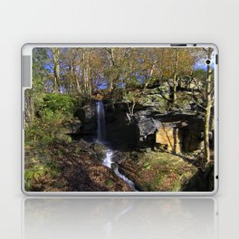 Waterfall at Lumsdale Laptop & iPad Skin