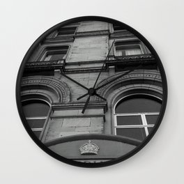 The Pillar Wall Clock