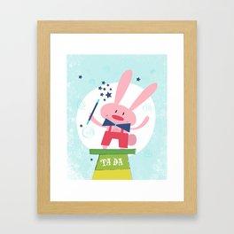 TA DA - Circus series Framed Art Print