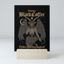 Black Coffee Mini Art Print