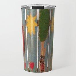 Fence Row Woodpecker Travel Mug