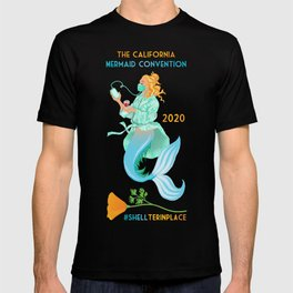 #SHELterinplace Mermaid T-shirt