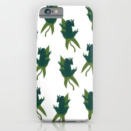 Floating Frog iPhone Case