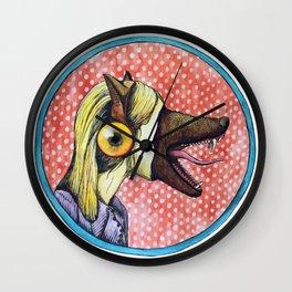 Beauty Is a Beast Wall Clock