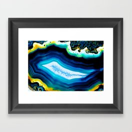 GEODE 4 Framed Art Print