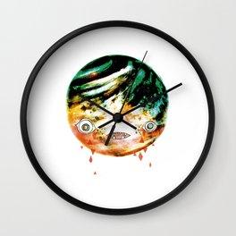Moonbase Melonhead Wall Clock