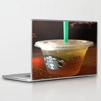 starbucks Laptop & iPad Skins featuring Starbucks Emma by Amanda Byrnes