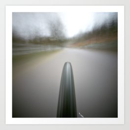 pinhole 495, on my way home Art Print
