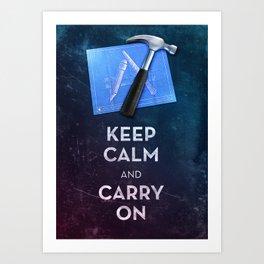 Keep Calm Xcode Art Print