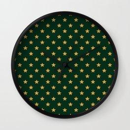 Pattern Stars Wall Clock