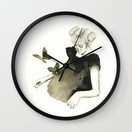 Le Farfalle Nello Stomaco Wall Clock