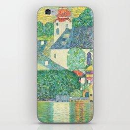 """Gustav Klimt """"Church in Unterach on the Attersee"""" iPhone Skin"""