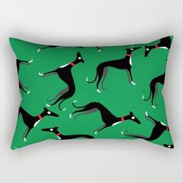 Crazy Hounds Rectangular Pillow
