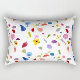Paper Garden  Rectangular Pillow