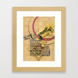 Expedition Nimrod - Exploration #2 Framed Art Print