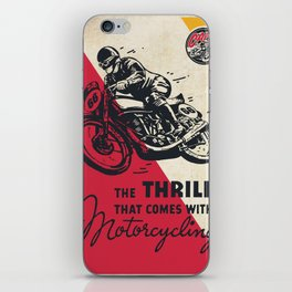 The Thrill iPhone Skin