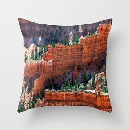 Inspiration Point, Bryce Canyon National Park, UT Throw Pillow
