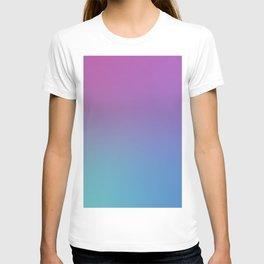 SUPERSTITION FUTURE - Minimal Plain Soft Mood Color Blend Prints T-shirt