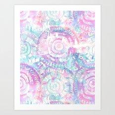 Amelie {Pattern 2A} Art Print