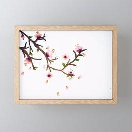 Fallen Framed Mini Art Print