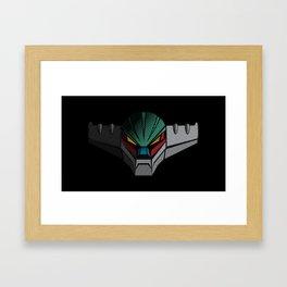 092b Jeeg wide Framed Art Print
