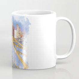 Pittsburgh Fort Pitt and Downtown Coffee Mug