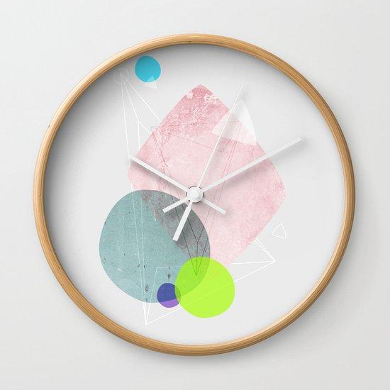 Graphic 123 Wall Clock
