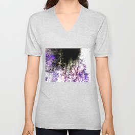 Violet Forest Unisex V-Neck