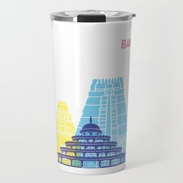 Bangalore skyline pop Travel Mug
