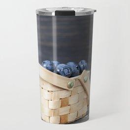 blueberry basket Travel Mug