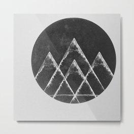 Masks & Mirrors Metal Print
