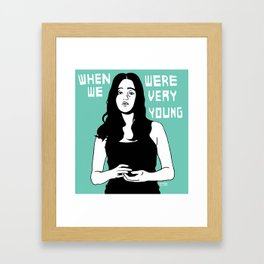 When we were very young Framed Art Print