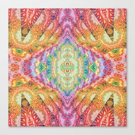 Psychedelic Journey GOA 1 Canvas Print