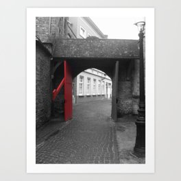 RedGates Art Print