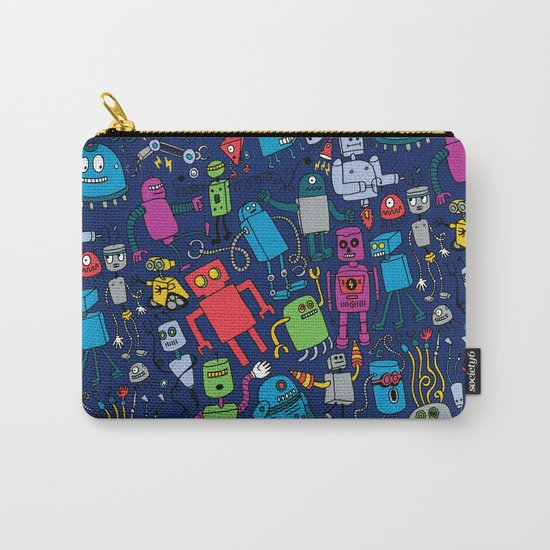 Robots Forever! Carry-All Pouch