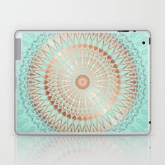 Rose Gold Mint Mandala Laptop & iPad Skin