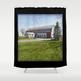 Grange & Outardes - Bienvenue Shower Curtain