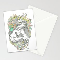colour blind IV Stationery Cards