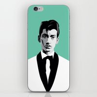 arctic monkeys iPhone & iPod Skins featuring Arctic Monkeys, Alex Turner by Morgane Dagorne